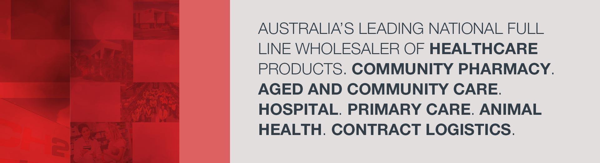 CH2 Australia's leading national full line wholesaler